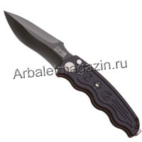Нож SOG, модель ST-06 Tactical Drop Point Black TiNi